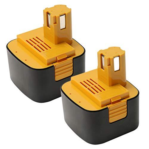 【POWERAXIS】パナソニック Panasonic EZT901 EZ9200 EY9200 パナソニックドライバー 電池パック 互換バッテリー 12V 3.0ah バッテリー ニッケル水素 急速充電可能 EZ9107 EY9200(B) EY9108(S) EY9201(B) EY9001 EZ9200S EZT001 EZT002 【一年保証】【2個】