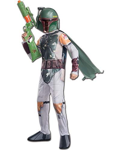 Rubie 's Offizielles Disney Star Wars Boba Fett, Kind Kostüm–Medium
