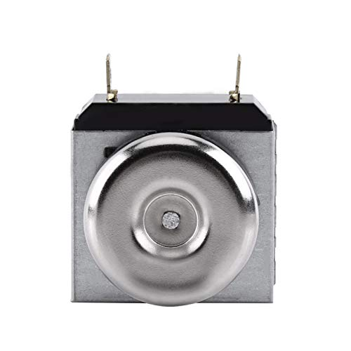 Cosiki Temporizador de microondas, Conveniente Controlador de Tiempo eléctrico, 15A 1-3000W Ac120V (60Hz), Ac250V (50 / 60Hz) 5.1 X 4.5Cm para Horno eléctrico Horno microondas de 2 Pines