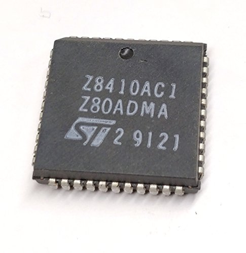 2 Stück Z8410AC1   4MHz   Z80A DMA DIRECT MEMORY ACCESS CONTROLLER   STMicroelectronics   PLCC44 Gehäuse