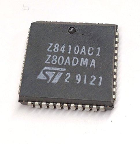 2 Stück Z8410AC1 | 4MHz | Z80A DMA DIRECT MEMORY ACCESS CONTROLLER | STMicroelectronics | PLCC44 Gehäuse