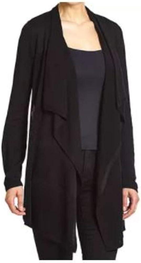 Premise Women's Long Sleeve Open Front Drape Cardigan
