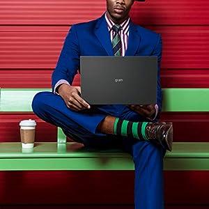"LG Gram 17Z90P - 17"" WQXGA (2560x1600) Ultra-Lightweight Laptop, Intel evo with 11th gen CORE i7 1165G7 CPU , 16GB RAM, 1TB SSD, Alexa Built-in, 19.5 Hours Battery, Thunderbolt 4, Black - 2021"