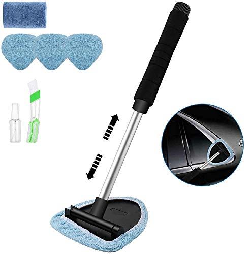 Jooheli Auto Reinigung Pinsel Set, Einziehbares Auto-Reinigungswerkzeug Bürsten Perfekt zur KFZ LKW Reinigung, Detaillierung reinigungspinsel autopflege(7pcs)