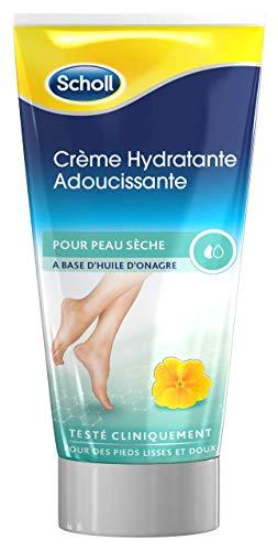 Scholl - Crème Pieds Hydratante Adoucissante 150 ml - Lot de 2