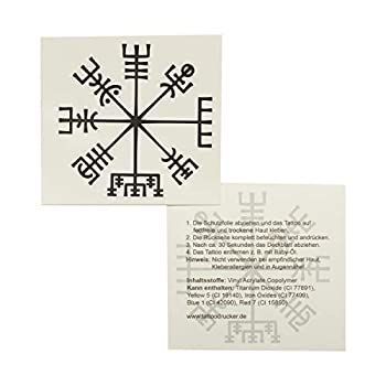 vegvisir compass tattoo