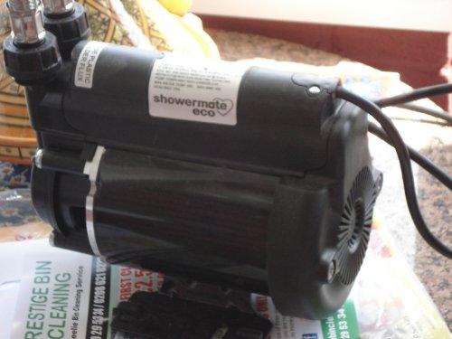 STUART TURNER SMECO3 Shower Pump, Black