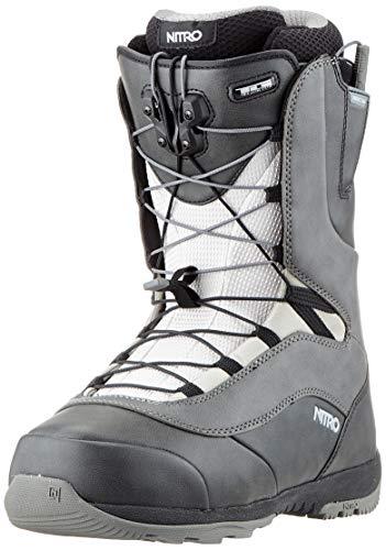 Nitro Snowboards Venture TLS '20 All Mountian Freeride Freestyle Chaussures de Snowboard pour Homme Noir/Anthracite 31.0