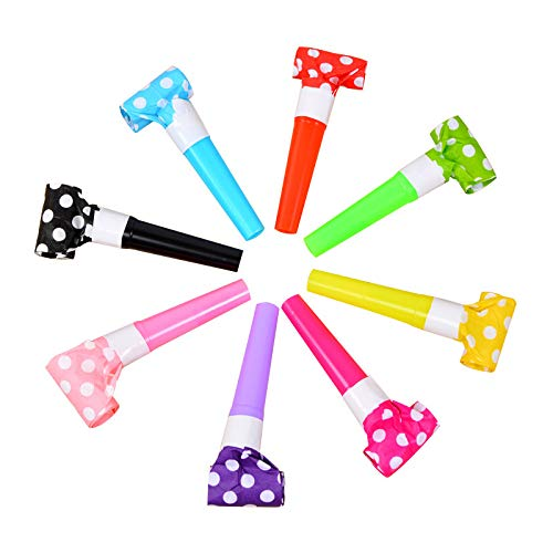 Great Deal! Blow Outs Whistles - Party Pack of 36 Musical Blowouts Noisemakers for Party Birthday