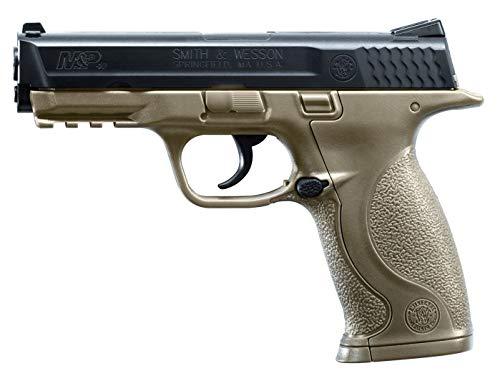 Umarex Smith & Wesson M&P 40 .177 Caliber BB Gun Air Pistol, Dark Earth Brown, Standard Action (2255051), Medium