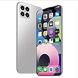 Mobile Phones Smartphone 6.6 Pulgadas de Pantalla Completa, batería Grande de 4800mAh, Tarjeta SIM Dual + reconocimiento Facial, Memoria de 6GB + 128GB, 32MP + 16MP, desbloqueo de Huellas