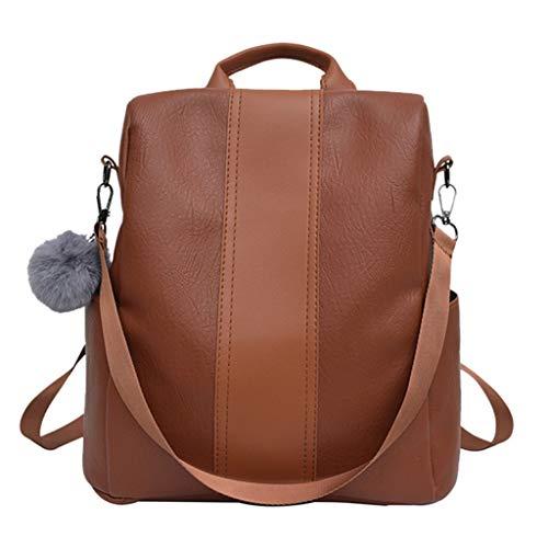 Btruely Damen Rucksack Reisetasche Henkeltasche Schulrucksack Große umhängetasche Tasche Handtaschen Damen Lederimitat Umhängetasche Designer Cross-Body Tasche Mini-Tasche