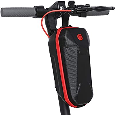 UWITGO Scooter Bag 3L Capacity, Hard Shell Scooter Handlebar Bag, Waterproof Front Hanging Bag, Scooter Storage Bag for Electric Scooter, E-Scooter Accessories for Adults