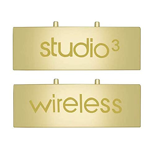 SINDERY Compatible with Studio 3 Replacement Hinge Parts Headband Connector Accessories Studio3 Wireless. (Gold)