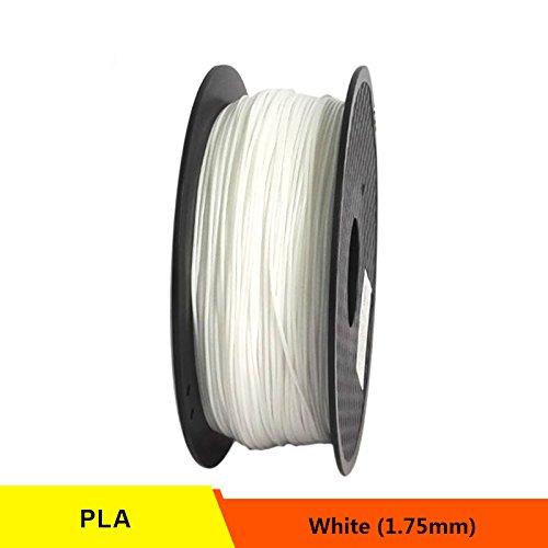 RONGT PETG T transparant glas 3D-printer Filament Zuur-Alcalinebestendig 1,75 mm 1 kg spoel Kunststof Materiaal Uitstekende Dikte (wit)