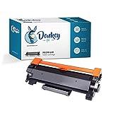 Donkey pc - TN2410 TN-2410 Toner Compatible Brother para HL-L2310D HL-L2350DW HL-L2370DN HL-L2375DW DCP-L2510D DCP-L2530DW DCP-L2550DN MFC-L2710DW MFC-L2730DW MFC-L2750DW. Capacidad: 1200 pags.