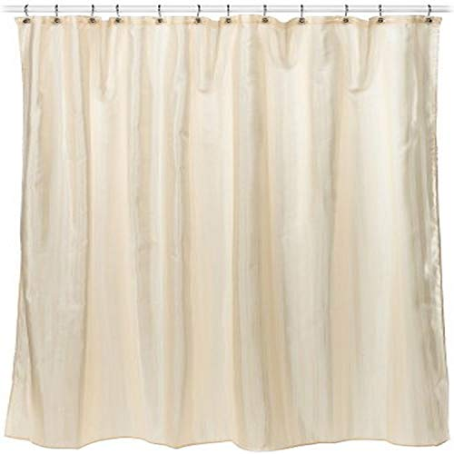 Croscill Fabric Shower Curtain Liner, 70-inch by 72-inch, Linen