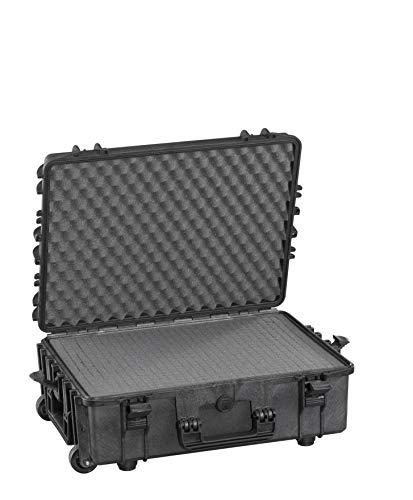 Max MAX540H190STR IP67 resistente al agua nominal de tapas rígidas para fotografía equipo estanca resistente de transporte tirador plástico funda Transit/espuma de poliuretano de/caja de transporte para iMac caja de herramientas