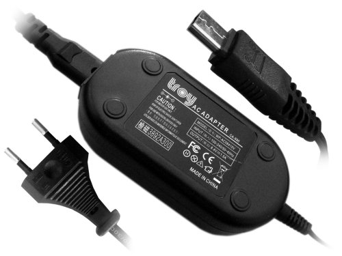 Troy-Netzteil, Strom-Adapter für Canon FS10, FS100, FS11, Ersatz für CA-590, CA-590A, CA590A