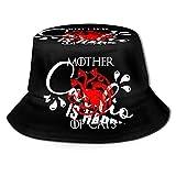 XCNGG Madre de Gatos Mujeres Hombres Unisex Sombrero de Sol Sombrero de Color sólido Sombrero de Pescador Sombrero de Cubo de Sol Moda Sombrero de Playa Salvaje Gorra Negro