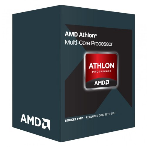 AMD Athlon X4 760K - Procesador AMD (Athlon X4 760K 4.10 GHz, FM2, Box Black)