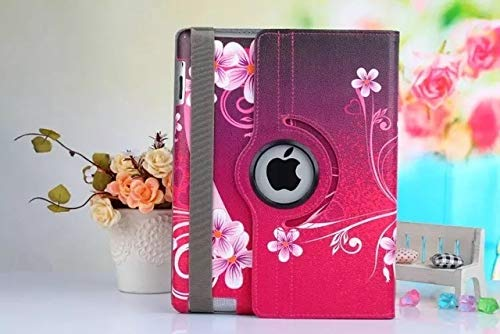 QiuKui Tab Cover For IPad Air 2, Smart Tablet Stand Designer 360 Rotating Pu Leather Cover For IPad 6 Ipad Air2 (Color : AS picture01)