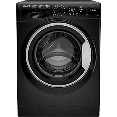 Hotpoint NSWM1043CBS 10kg 1400rpm Freestanding Washing Machine - Black