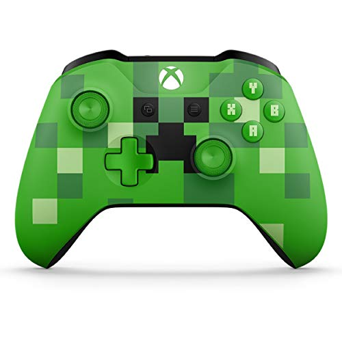 Microsoft Xbox Wireless Controller, Minecraft Grün, Limited Edition