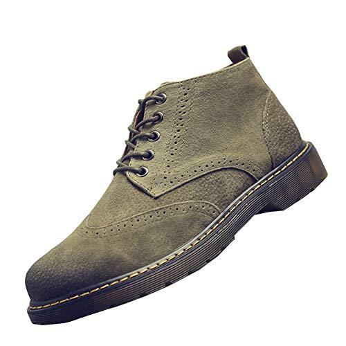 NXY De los Hombres Ante Desierto Botas Lace Up Botines Casual Zapatos Brogue