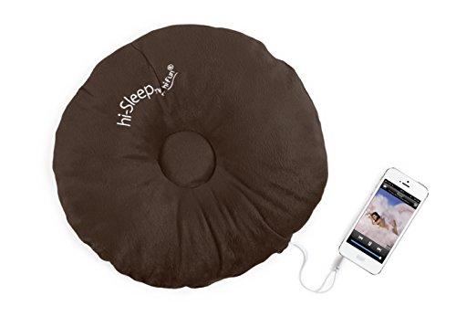 Hi-Fun Hi-Sleep Cuscino con Speaker integrato - Brown
