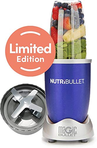 NutriBullet 600 watt Series - Blender - 5-delig - Blauw