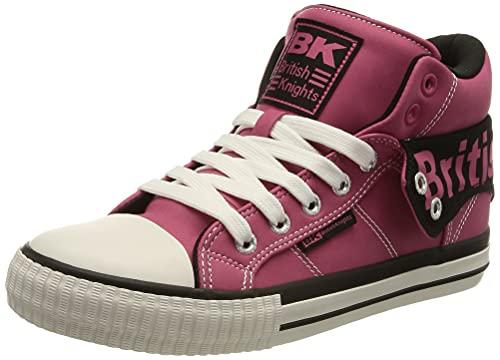 British Knights Damen ROCO Sneaker, Hard PINK/Black, 39 EU