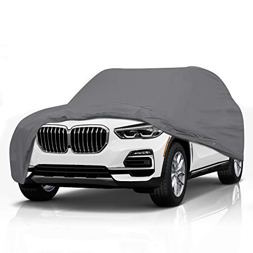 5 Layer Car Cover for BMW X3 2017-2021 SUV 4-Door Semi Custom Fit Full Coverage Pollution, Dust,...