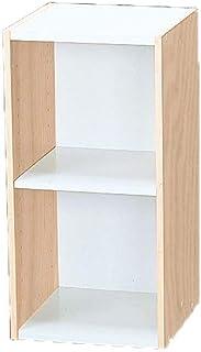 Marca Amazon - Movian Librería modular con 2 estantes en MDF Beige 30 x 29 x 60 cm