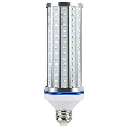 Fransande - Lámpara LED para desinfección de mano, 60 W, E27, luz germicida UV 195 LED, UVC, lámpara casera con forma de ma?S