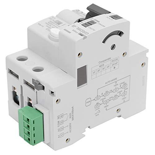 Jeanoko No es fácil de dañar Protección contra sobretensiones 2P Protección contra sobretensiones de la casa Fabricación Profesional para componentes electrónicos(40A)