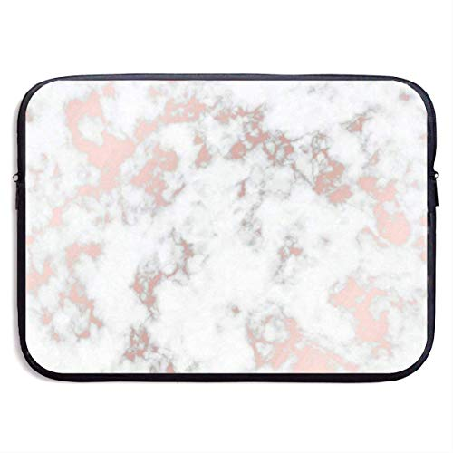 13 Inch Laptop Sleeve Briefcase Rose Gold Best Marble Neoprene Waterproof Handbag Protective Bag Cover Case for Surface Laptop/Notebook/Acer/Asus/Dell/Lenovo/iPad/Surface Book