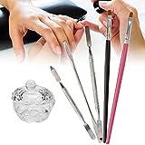 Set di strumenti per unghie fai-da-te, Rotekt 6pcs Set di strumenti per gel di estensione ...