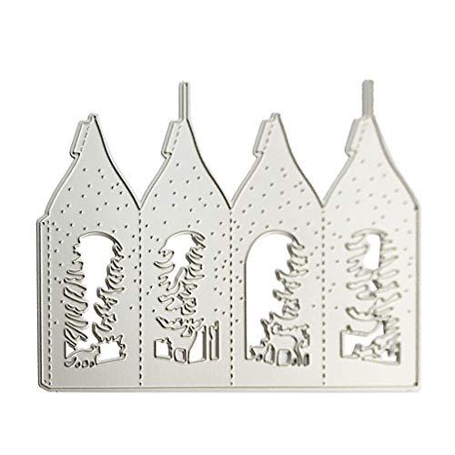 Ostertag H/äschen S/ü/ßigkeiten Box Stanzschablone Stanzform Metall Stanzb/ögen Stanze Stanzrahmen Schablone zur Scrapbooking Karten Silber