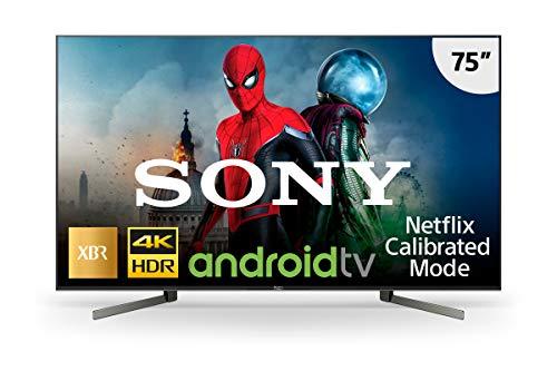 Smart TV LED, Grande, Sony, XBR-75X955G, 75, Preta, Compatível com Alexa