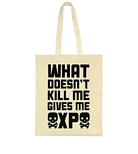 What Doesn't Kill Me Gives Me XP Tote Bag