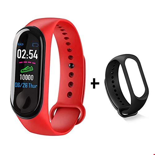 ZQINY Fitness Tracker Activity Tracker met hartslagmeter, stappenteller, 8 sportmodi, calorieënteller, slaapmonitor, IP68 waterdichte armband voor Android en iPhone, C