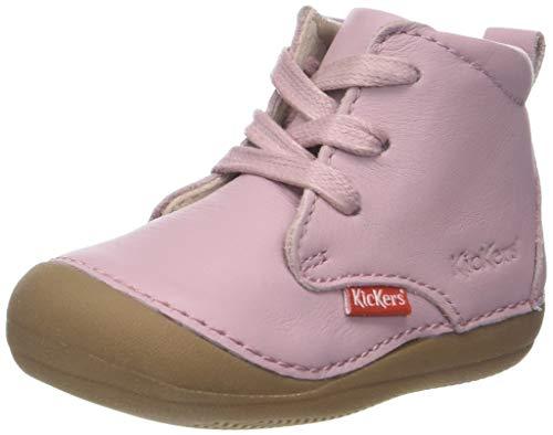 Kickers Unisex Baby SONICE Hausschuhe, Pink (Rose Clair 131), 26 EU