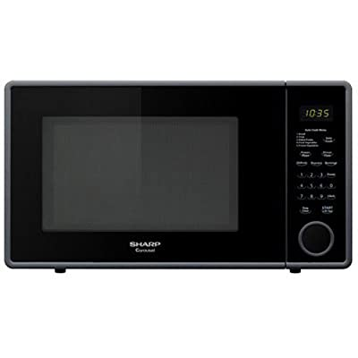 Sharp 1,000W Countertop Microwave Oven, 1.1 Cubic Foot