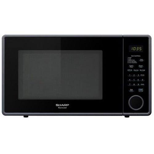 Sharp R-309YK Microwave (1.1 cu.ft.), Black, Standard