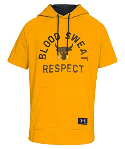 Under Armour UA x Project Rock Respect MD Steeltown Gold