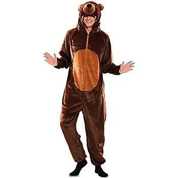 Disfraz de Oso Marrón para hombre: Amazon.es: Juguetes y juegos