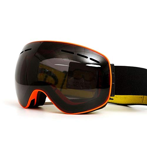 Yi-xir diseño Clasico Gafas de esquí Magnet de Doble Lente Transductor imán antifogging Gafas Graves Hombres montañismo Gafas Gafas globales Moda (Color : 5, Size : 180 * 100mm)
