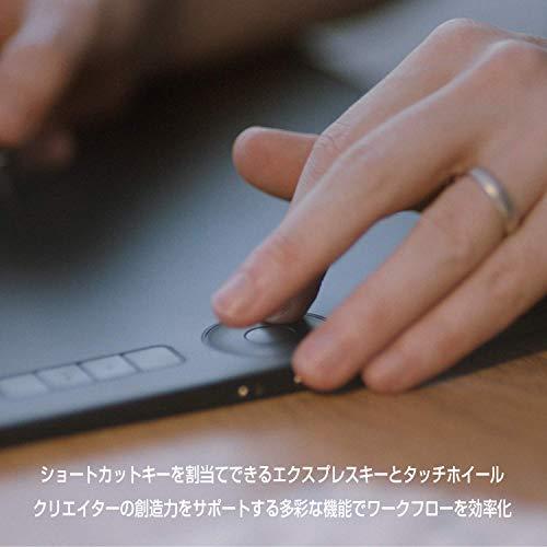 『ワコム ペンタブレット ペンタブ Wacom Intuos Pro Mサイズ 2017年 ペン入力 板タブ Wacom Pro Pen 2 付属 Windows Mac 対応 PTH-660/K0』の4枚目の画像