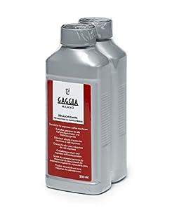 Gaggia - Descalcificante Pack de 2 unidades, plástico, gris
